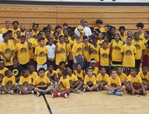 NBA's Kevon Looney returns home to host annual basketball camp